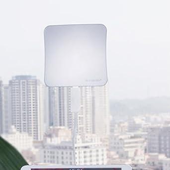 Cargador solar USB portátil con panel de energía solar, para colocar en la ventana de