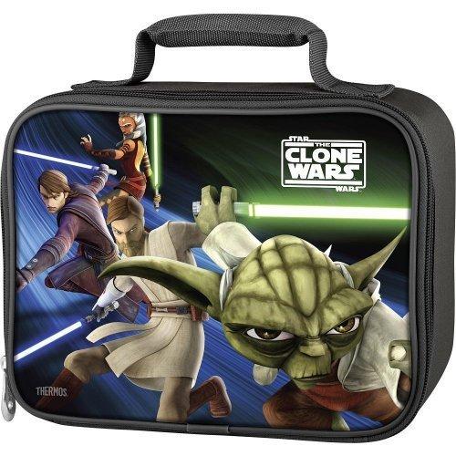 Thermos Soft Lunch Kit, Star Wars - Clone Wars (School Lunch Box Boys)