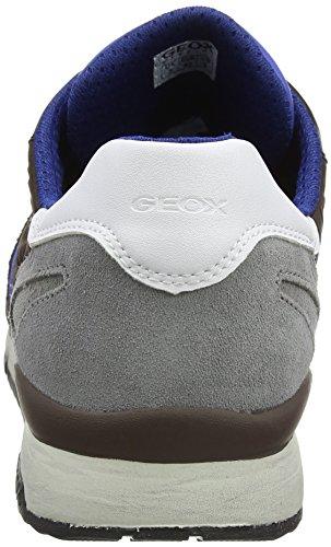 Sandford Zapatillas Hombre Marrón Ebony B Geox para U a ABX SWqv5X1