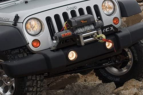 Winch For Jeep >> Amazon Com Rough Country Winch Plate Fits 2007 2018 Jeep Wrangler
