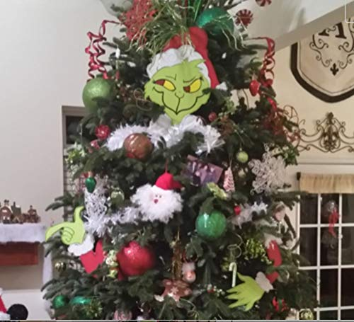 Grinch Christmas Tree Topper Grinch Ornament