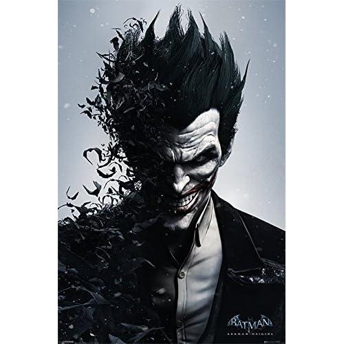 Batman Arkham DC Comics Origins Joker Grande Affiche