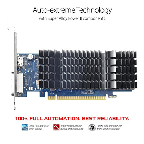 ASUS GeForce GT 1030 2GB GDDR5 HDMI DVI Graphics Card (GT1030-2G-CSM) by Asus (Image #1)