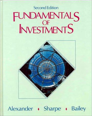 Fundamentals of Investments (William F Sharpe)