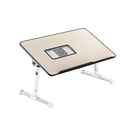MYAOU&Laptop desk Mesa portátil Mesa de Escritorio portátil ...