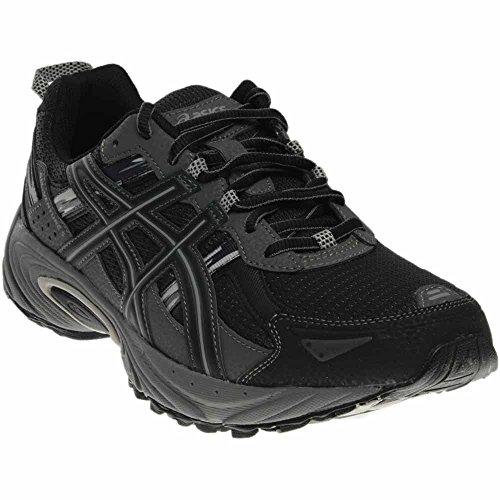 ASICS Men's Gel Venture 5 Running Shoe, Black/Onyx/Charcoal, 12.5 4E US