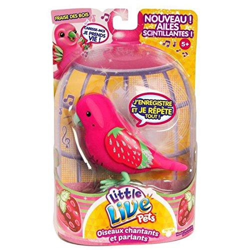 Kanaï Kids - KK282223 - Oiseau Fraise des Bois - Little Live Pets - Saison 4