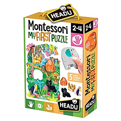 Headu Montessori First Puzzle The Jungle