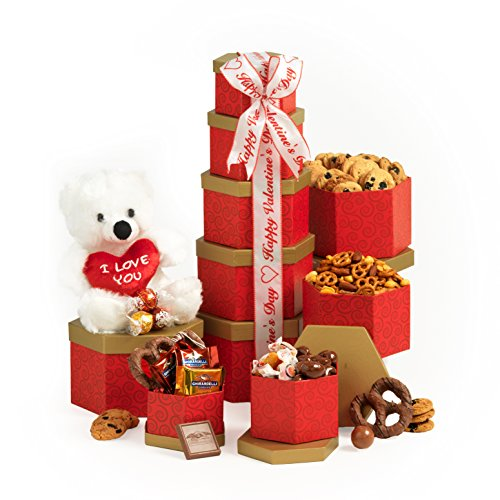 Thinking of You Valentines Day Gift Basket For Her or Him