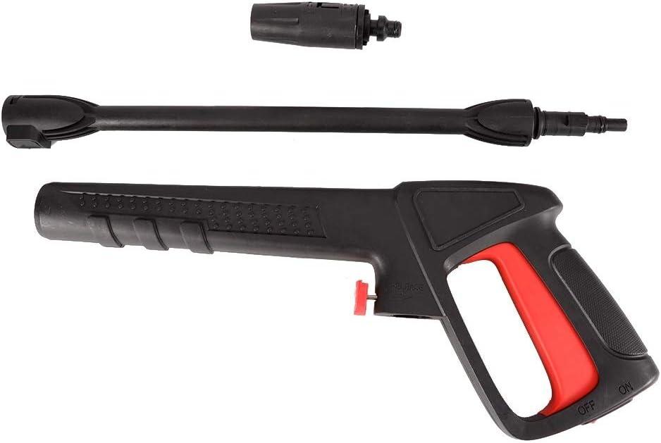 Lavadora a presión, Water Spray Jet 16Mpa Lavadora a alta presión Spray de agua con pinza Compatible con 8mm Bosch AQT Black & Decker