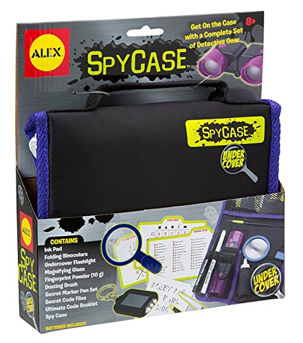 ALEX Toys Undercover Spy Case Detective Gear Set Rearview Spy Glasses, Great Value Kit!! by ALEX Toys (Image #4)