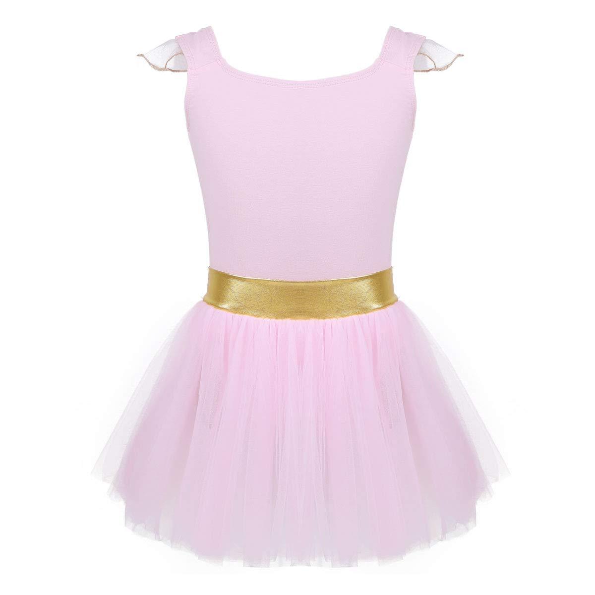 iiniim Girls Kids Ballet Dress Gymnastics Dance Leotard Costume Dancewear