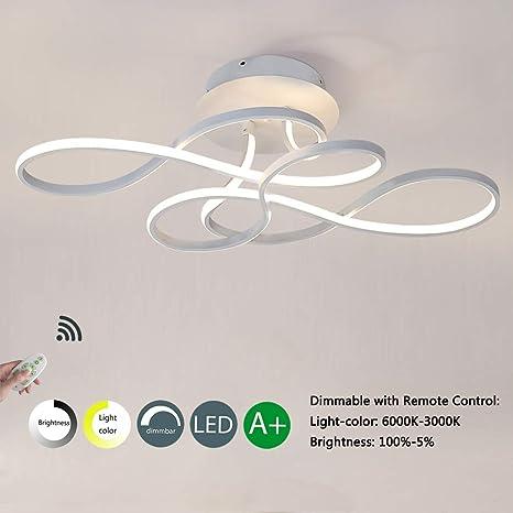 LED Lámpara de techo Regulable Lámpara Moderno Creativo Art ...