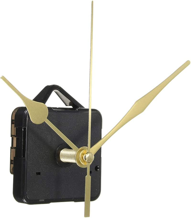 Clock Movements Quartz Clock Mechanism Silent Sweeping 6 Sizes f// Clock Kits