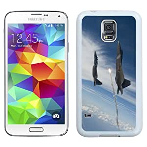 New Beautiful Custom Designed Cover Case For Samsung Galaxy S5 I9600 G900a G900v G900p G900t G900w With Jet Flying To Space (2) Phone Case