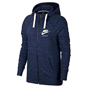 NIKE Sportswear Gym Vintage Hoodie (S, Binary Blue/Sail)