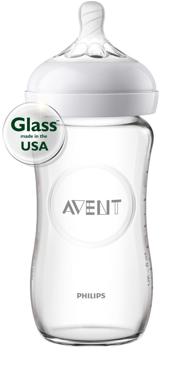 Philips Avent Natural Glass Bottle Baby Gift Set, SCD201/01 by Philips AVENT (Image #3)