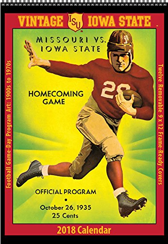 Amazon.: 2018 Vintage Iowa State Cyclones Football Calendar