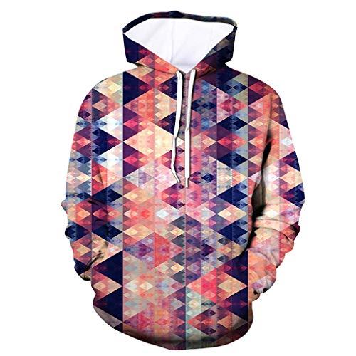 Men's Adult Pullover Hooded Sweatshirt, Vine_MINMI Half Dome Pullover Hoodie 3D Printed Tops Long Sleeve Sweaters Tops