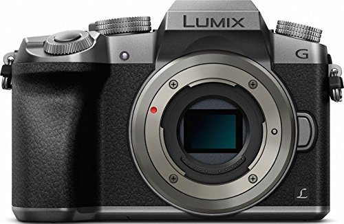 Panasonic Lumix DMC-G7 Mirrorless Micro Four Thirds Digital Camera (Silver Body Only) - International Version (No Warranty)
