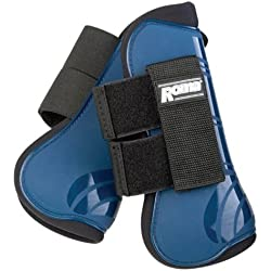 Roma Competitor Open Front/Fetlock Boot Set Navy