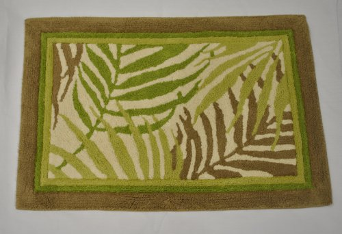 Sherry Kline Pattern - Sherry Kline Sago Palm Bath Rug