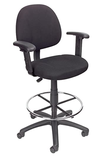 Drafting Chair With Arms