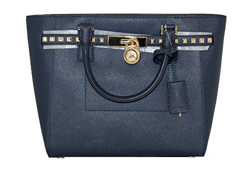 Michael Kors Navy Handbag - 7