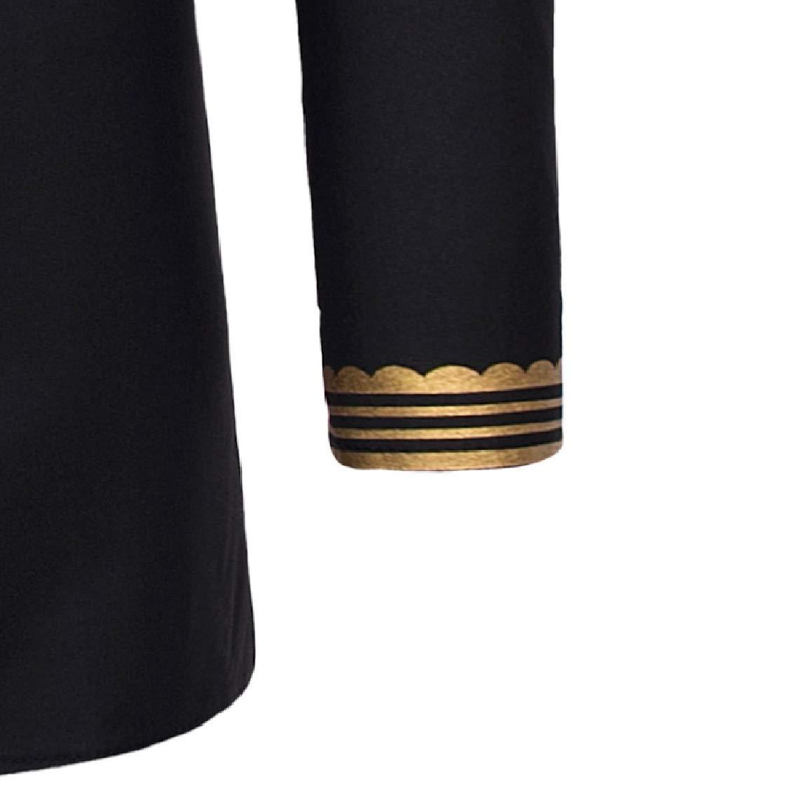 Godeyes Mens V Neck Causal Printed Fit Big /& Tall Long-Sleeve Pullover Tees