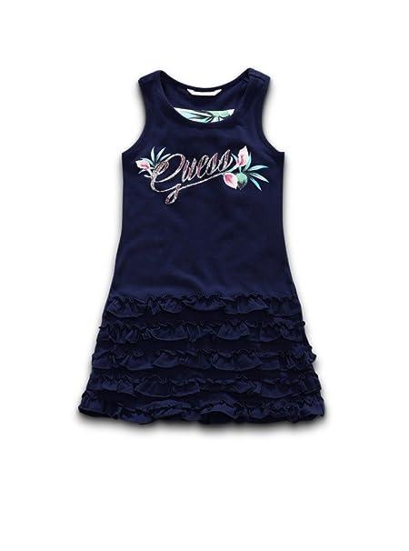 GUESS - Vestido - para niña Azul 6-9 Meses