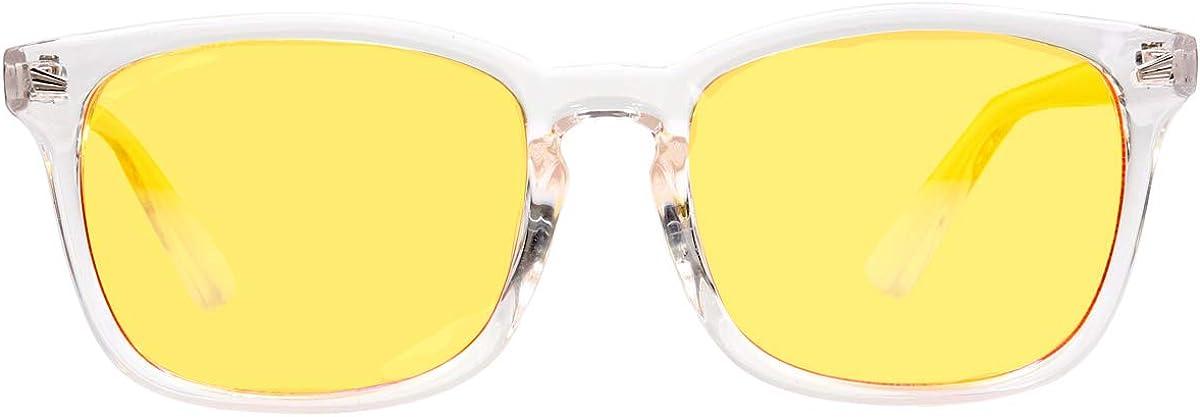 Beison Computer Glasses Anti Blue Light Anti-glare Anti-fatigue Computer/TV Electromagnetic Radiation Protection