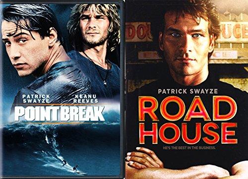 Point Break   Road House Dvd 80S Patrick Swayze Movie Bundle Double Feature Action Star Movie Set