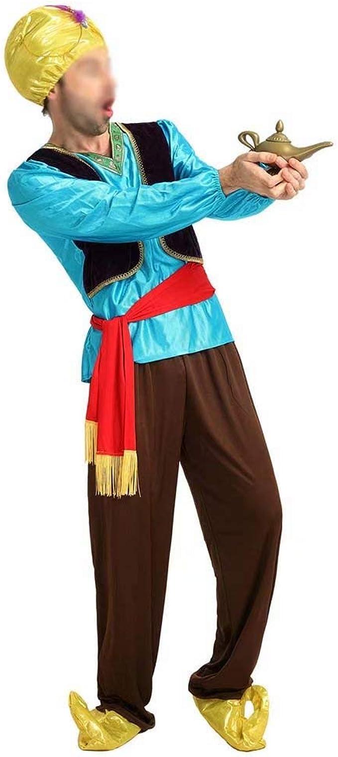 better daily life Disfraz de Aladdin Disfraz de Halloween Cosplay ...