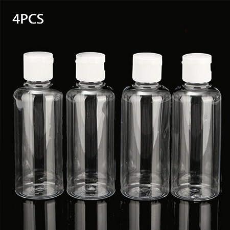 bouteilles de voyage vides transparentes pour articles de toilette et de toilette anti-fuites Miuse Lot de 10 flacons de voyage avec sac de rangement