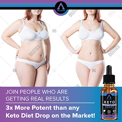 (4oz) Weight Loss Drops for Keto Diet, Appetite Suppressants, Fat Burner for Women Men with Niacin, L-Arginine, Glutamine, Carnitine, Maca Root - Fast Absorption than Capsules, Pills, Gummies, Powders