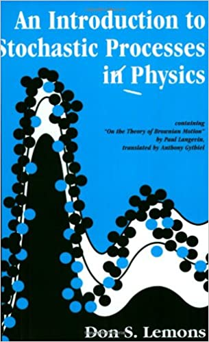 Amazon an introduction to stochastic processes in physics an introduction to stochastic processes in physics johns hopkins paperback fandeluxe Gallery
