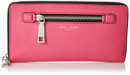 Marc Jacobs Gotham City Slgs Travel Wallet, Begonia, One Size by Marc Jacobs