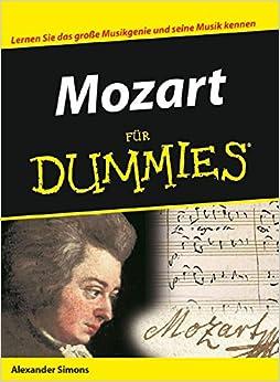 Book Mozart Fur Dummies (Für Dummies)
