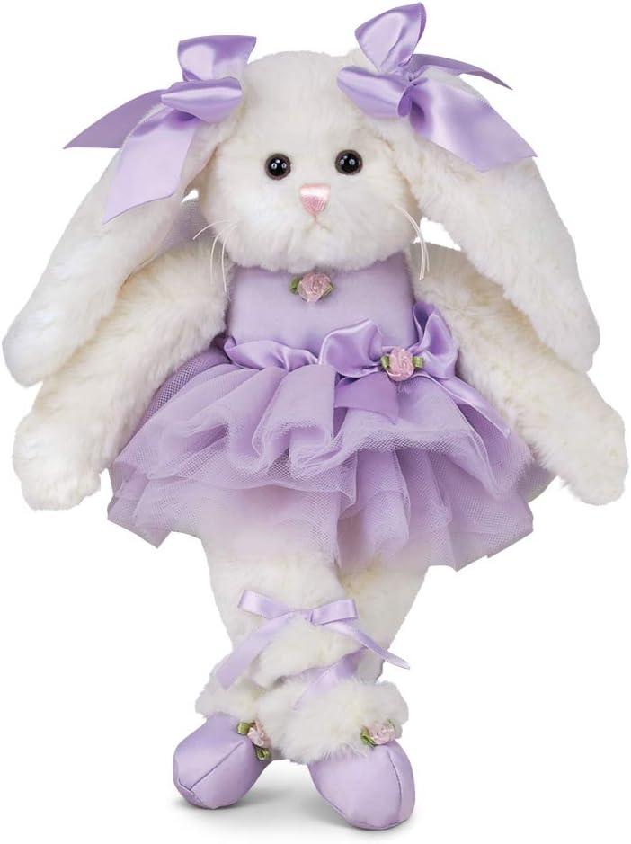 "Bearington Twirlina Ballerina Plush Stuffed Animal Bunny 12"""