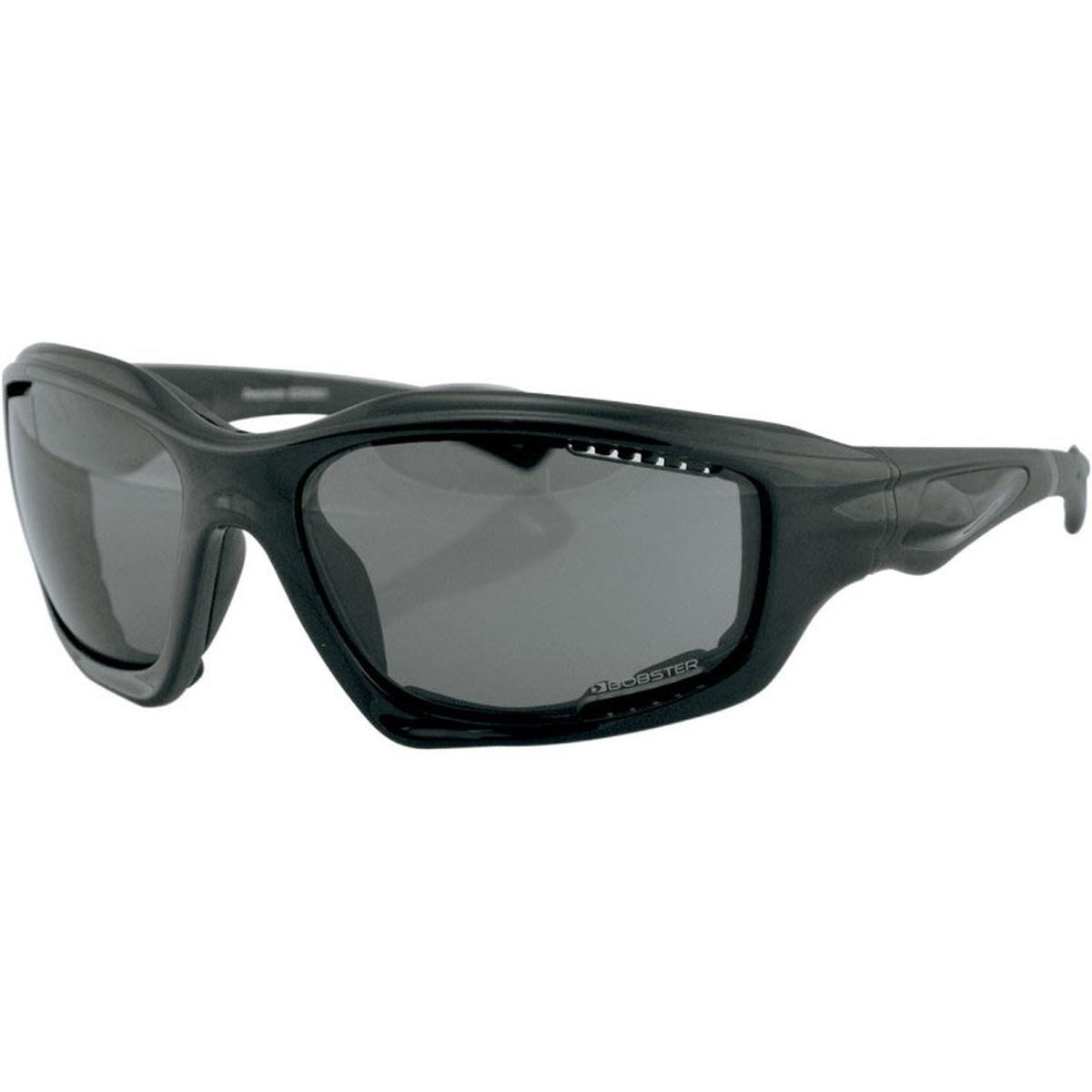 Bobster Desperado Adult Designer Motorcycle Sunglasses//Eyewear Black//Smoke//One Size Fits All