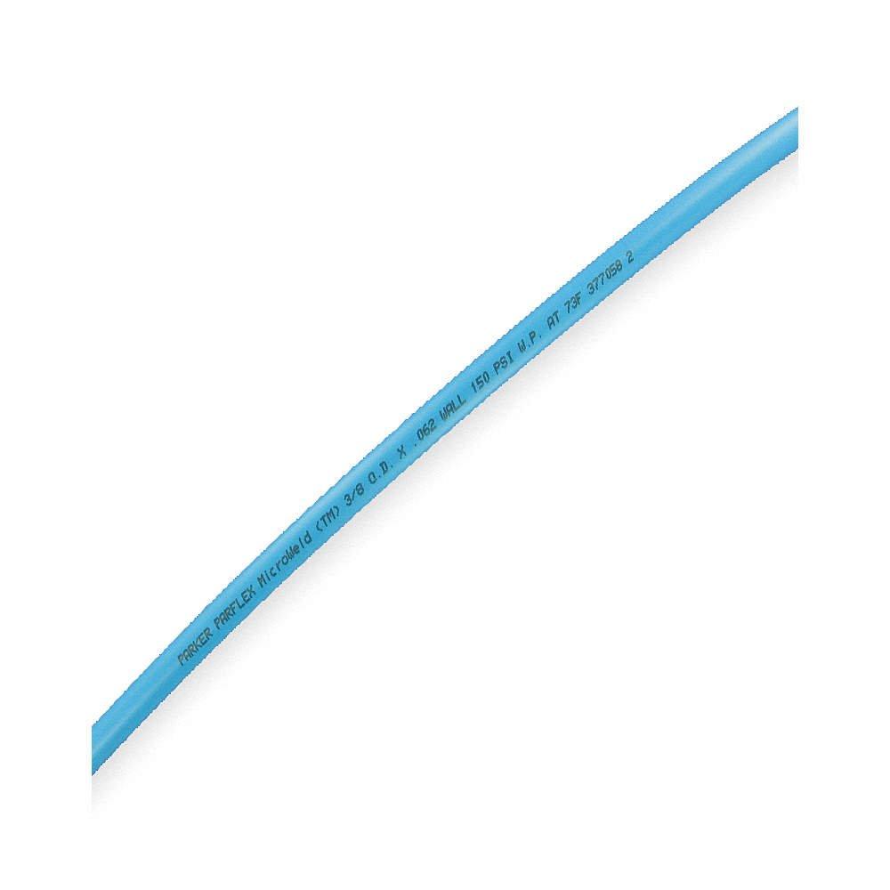 Poly 50 50/' Parker HUFR-4-045-BL-0050 Weld Tubing Blue 1//4 in OD