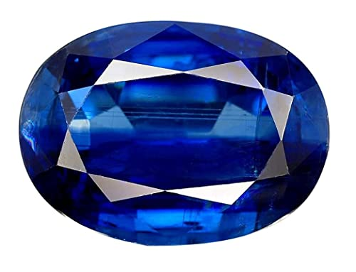 Buy Excellent Quality Luxurious Lab Created Neelam 10.25-10.50 Ratti  Pukhraj Natural Blue Sapphire Stone Loose Gemstone at Amazon.in