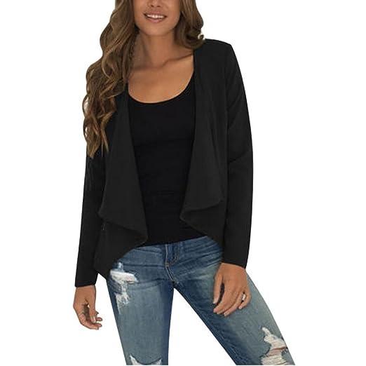 Women Jacket, Misaky Waterfall Loose Tops Cardigan Outwear ...