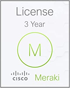 Meraki MX64 Enterprise License and Support, 3 Years, Electronic Delivery