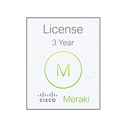 Amazon com: Meraki MX84 Enterprise License and Support, 3