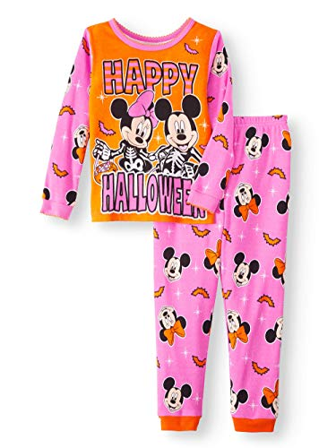 Disney Minnie Mouse Little Girls Toddler Halloween Pajama