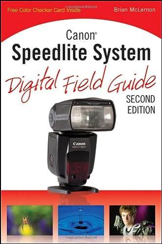 amazon com canon speedlite system digital field guide rh amazon com canon speedlite 430ex guide number canon speedlite 430ex guide number
