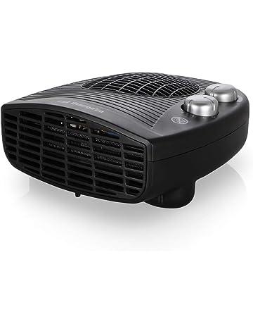 Orbegozo FH-5028 Calefactor eléctrico con termostato Ajustable, 2000 W de Potencia, 2