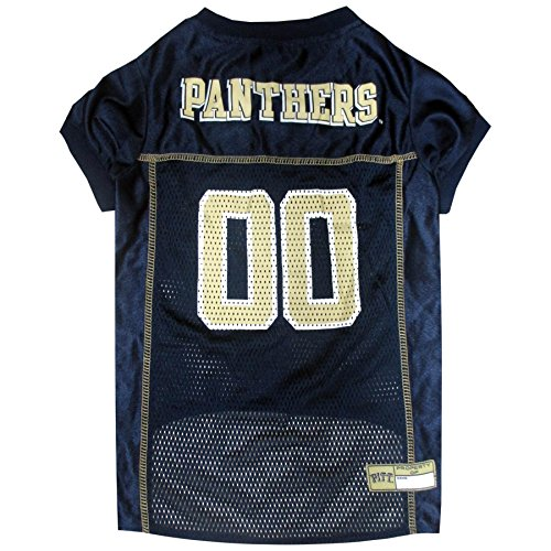 Pittsburgh Jersey Dog - NCAA PITTSBURGH PANTHERS DOG Jersey, Small