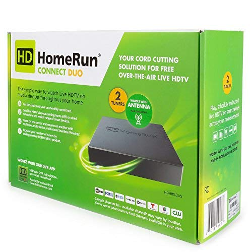 SiliconDust HDHomeRun Connect Duo HDHR5-2US Tuner Bundled